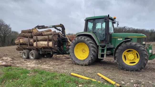Scombart Travaux forestiers à Montdidier